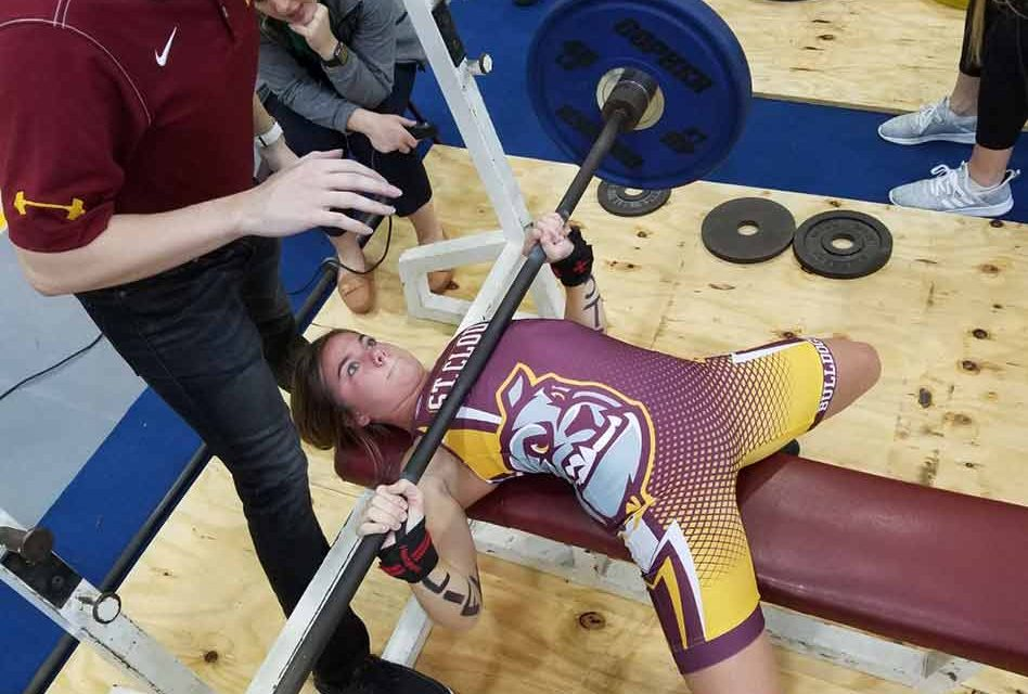 Five county lifters win girls regional titles; 2A state meet Feb. 15