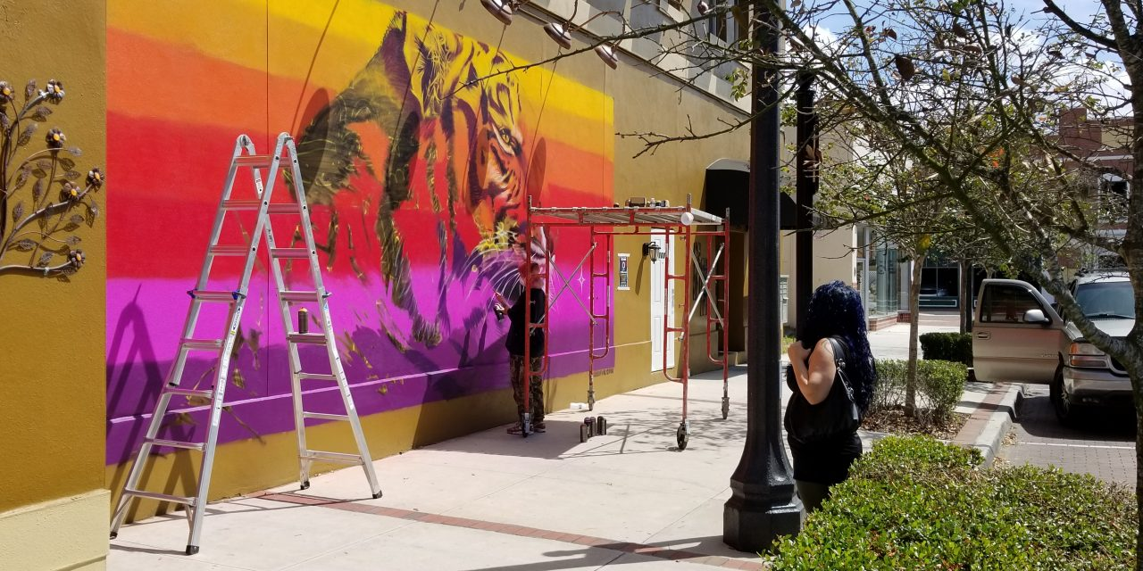 """Osceola Arts' """"ARTisNOW"""" public murals project painting up downtown Kissimmee"""
