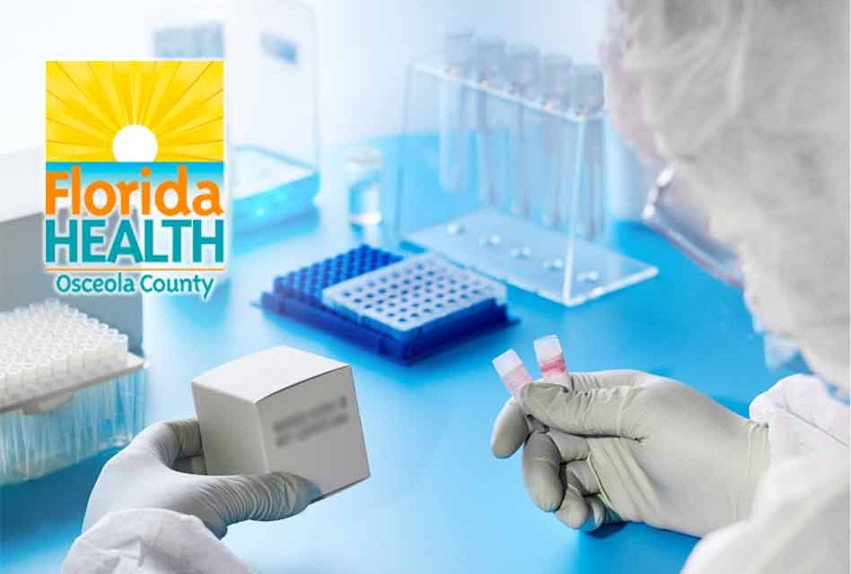 Florida Department of Health in Osceola County provides COVID-19 testing information