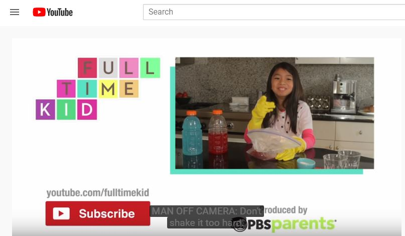 Here's some YouTube learning sites for your stuck-at-home students