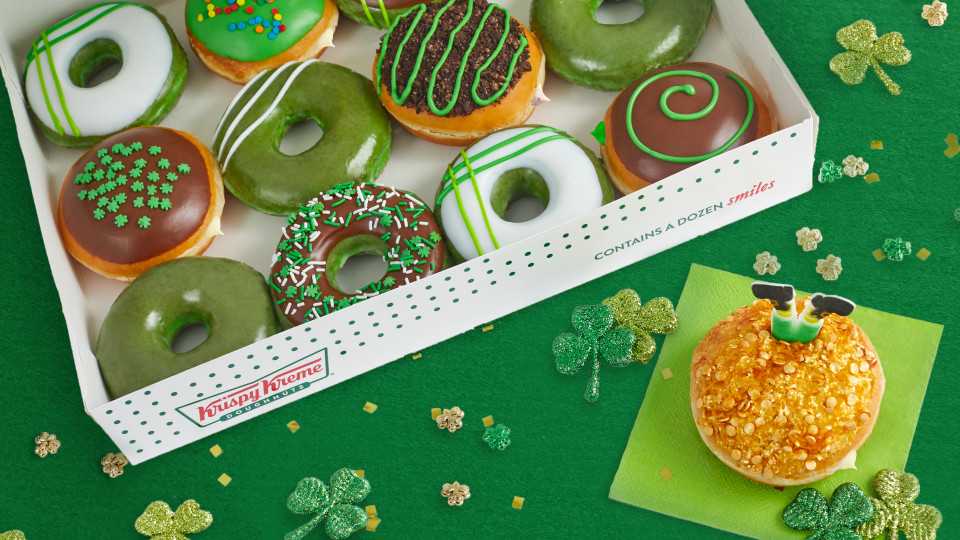 Krispy Kreme rolls out green doughnuts for St. Patrick's Day — get yours this weekend