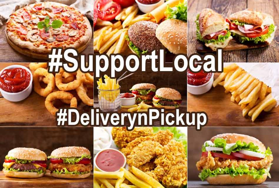 Getting hungry at home for some take out? Here's where to grab n' go or to get delivery!