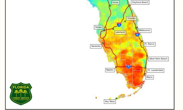 No rain means Osceola's drought index reaches a very dry 524 and climbing