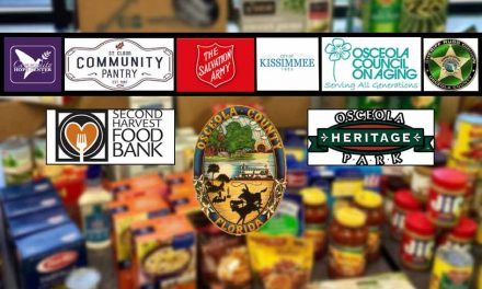 Multiple community organizations coming together for drive-thru food pantry at Osceola Heritage Park Thursday