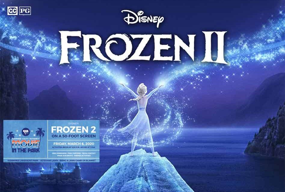 KUA's Free Movie in the Park to Feature Disney's 'Frozen 2' Friday March 6
