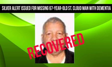 Silver Alert issued for missing St. Cloud man with dementia recovered