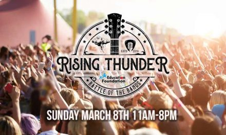 Come see Sunday's Battle of the Bands, and American Idol Finalist Alyssa Raghu, at Rising Thunder in St. Cloud