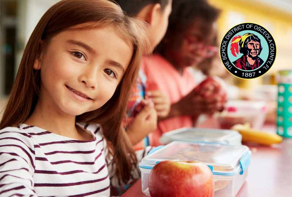 School District will provide Osceola students and their families meals next week