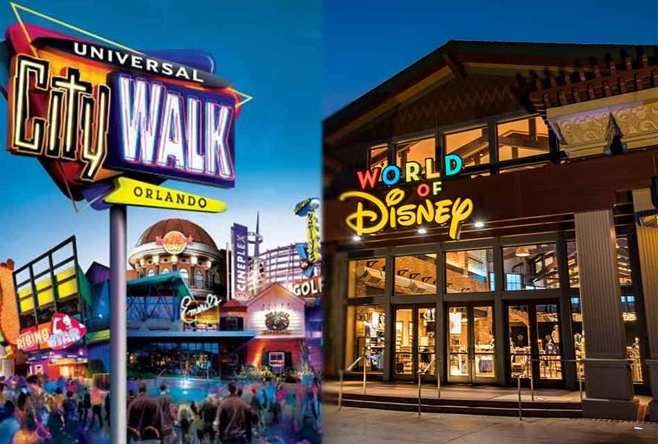 Disney stores and CityWalk close tonight, all hotels close 5 p.m. Friday