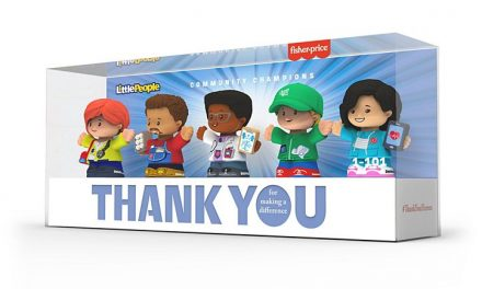 "Mattel thanking ""a new kind of hero"" with doctor, nurse, delivery driver action figures"