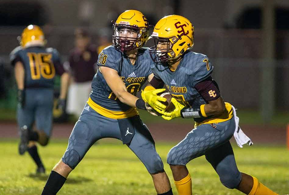 COVID or not, St. Cloud High posts 2020 football schedule. Let's be optimistic!
