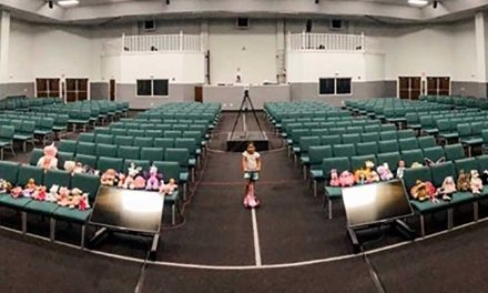 Even in empty church, Cornerstone's Senior Pastor doesn't preach alone thanks to his granddaughter's stuffed friends