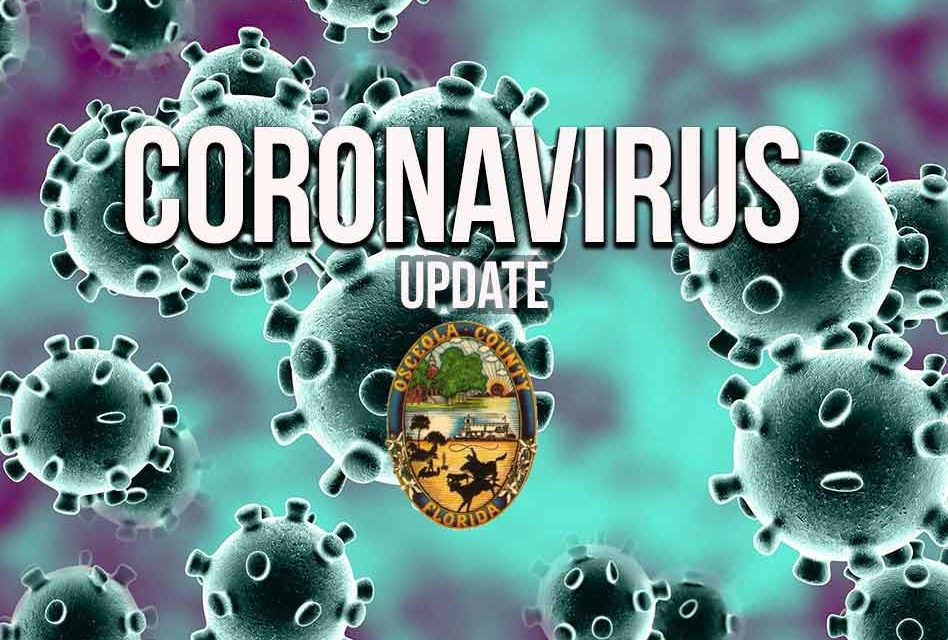 Osceola stays at 333 confirmed COVID-19 cases, no new reported since morning update
