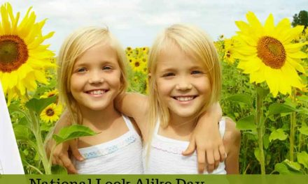 It's April 20th, and that means it's National Look Alike Day!