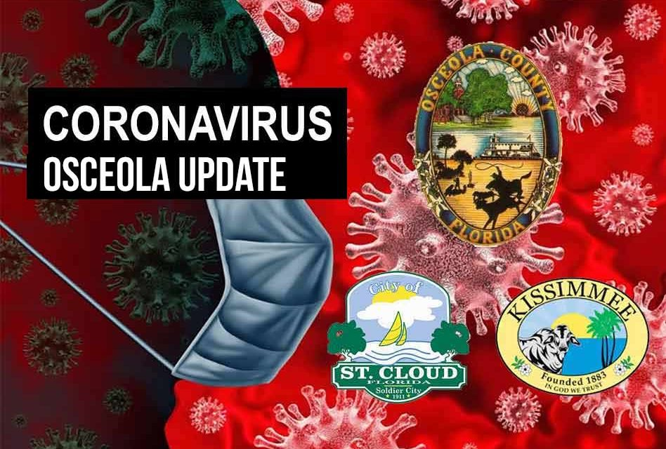 Florida Department of Health reports 6th Osceola County COVID-19 death from earlier in the month