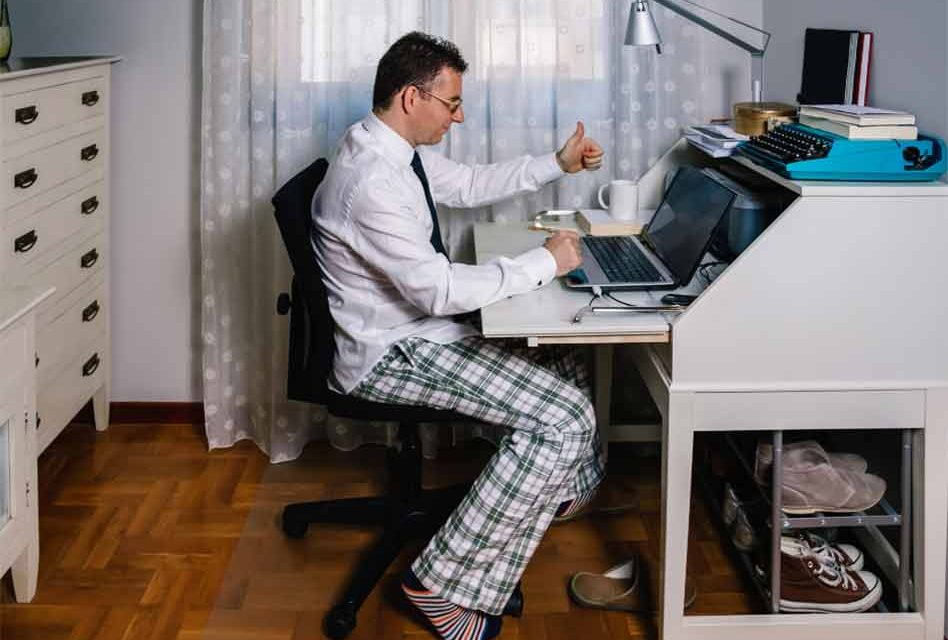 It's April 16th and that means it's National Wear Your Pajamas To Work Day!!