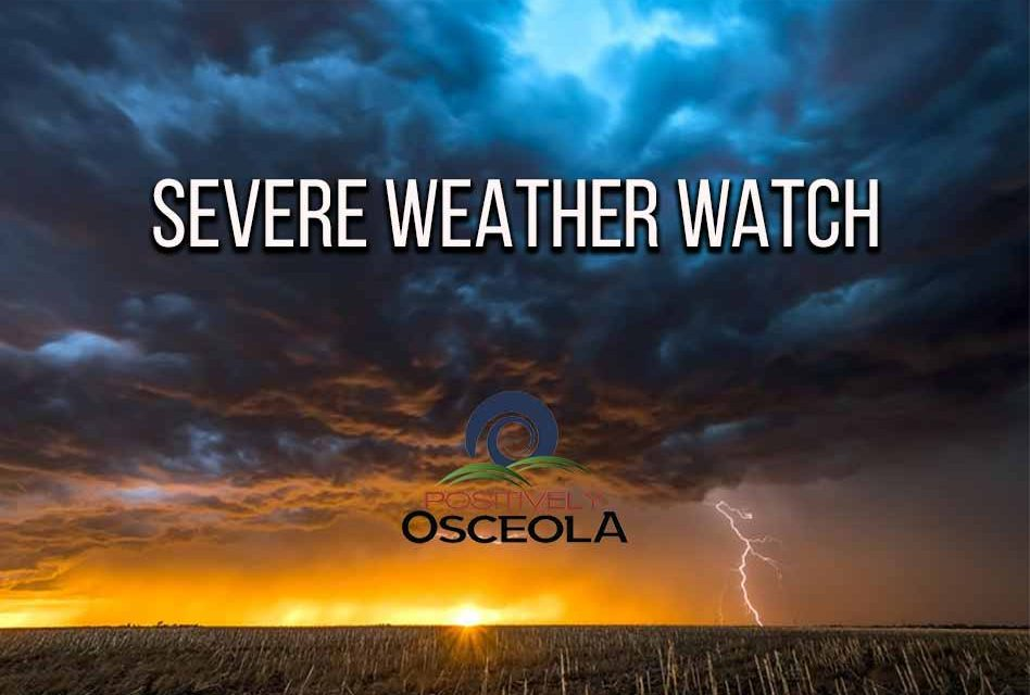Be prepared for severe weather potential in our area Thursday morning