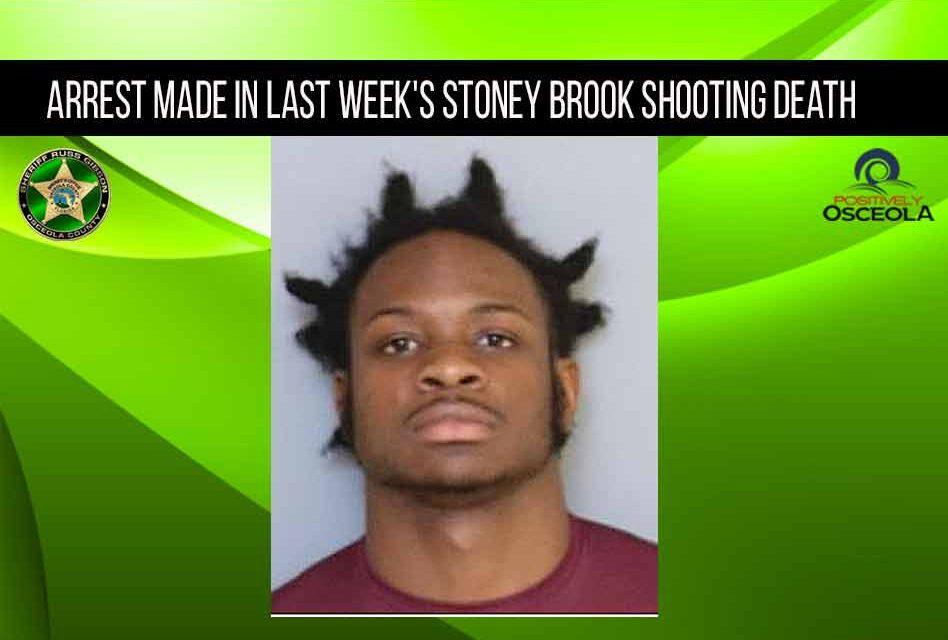 Arrest made in last week's Stoney Brook shooting death