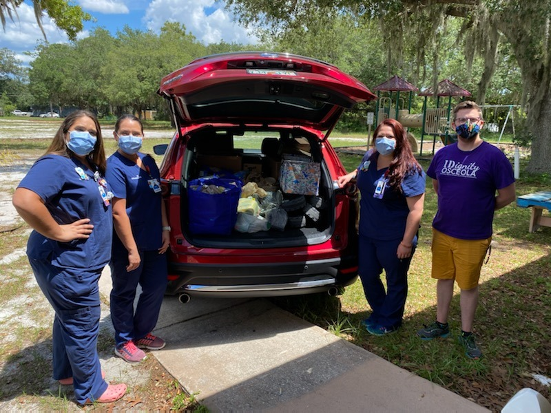 Community Hope Center to provide emergency food distribution on Wednesday in Kissimmee
