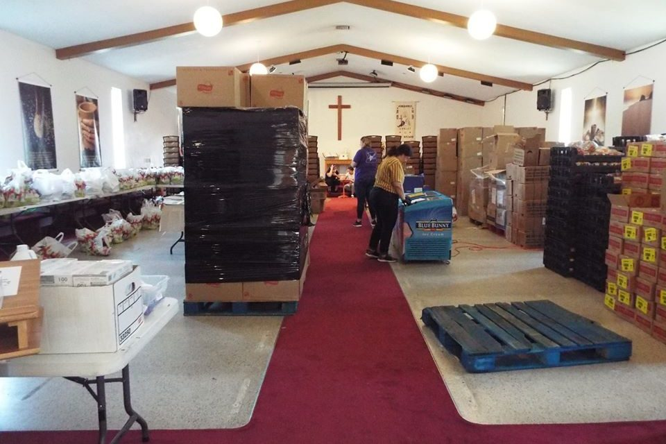 A busy week at the Community Hope Center: food service Wednesday, COVID-19 testing Tuesday through Thursday