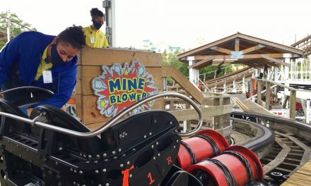 Fun Spot Kissimmee has reopened! Take your mask and challenge the Mine Blower