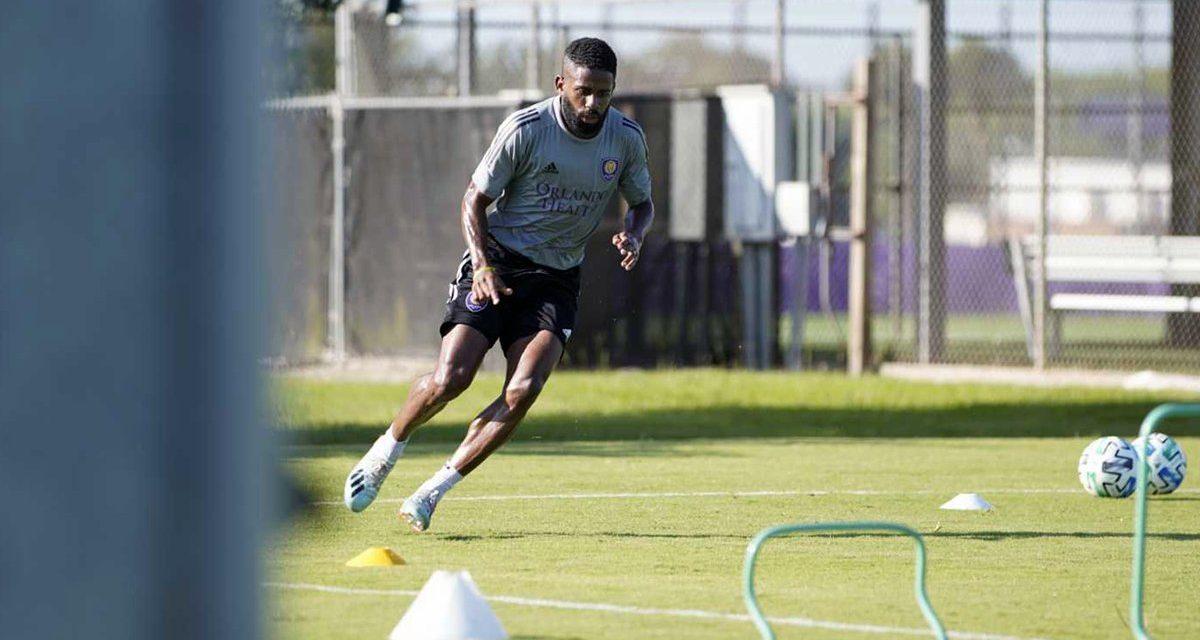 Orlando City Soccer returns to MLS training at Osceola Heritage Park