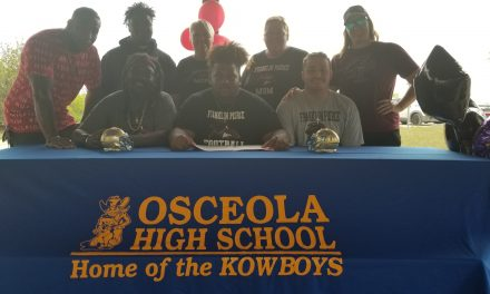 Sevien Martin becomes Osceola Kowboys 10th football signing, headed to Franklin Pierce U.
