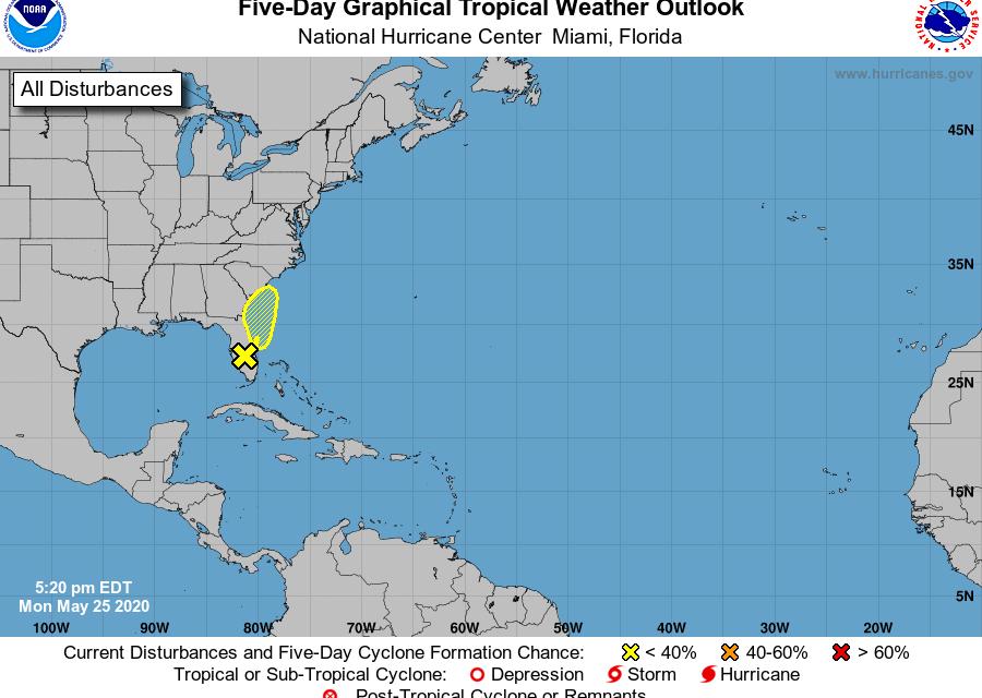 Tropical Storm Bertha roars to life off SC coast