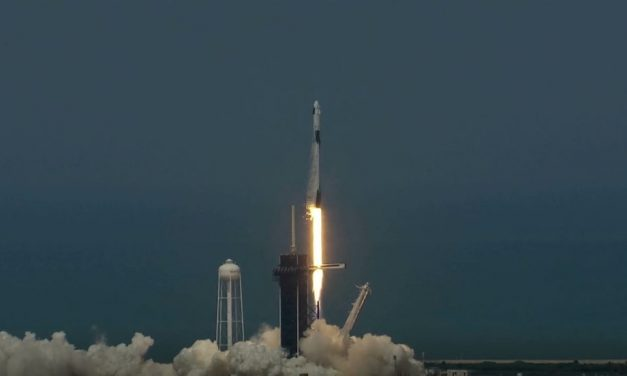 Dragon Up! SpaceX Falcon 9 launches first American crew into space in nine years