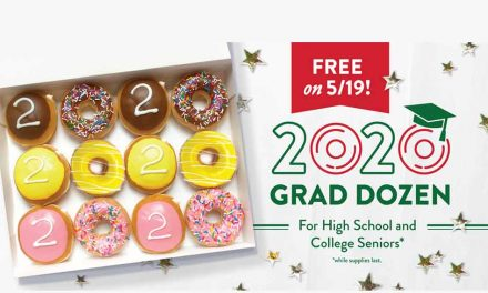 Krispy Kreme sweetens end of 2020 for seniors with special grad doughnuts; here's how to get them FREE today!