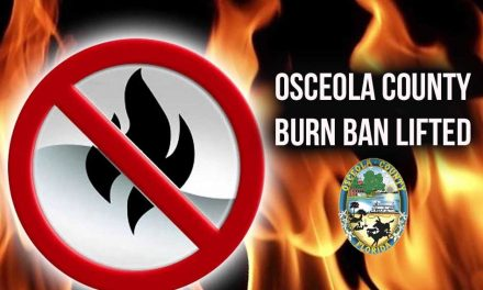 Osceola County lifts burn ban