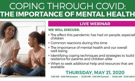 "Huntington Learning Center hosting webinar Thursday to help those ""Coping through COVID"""