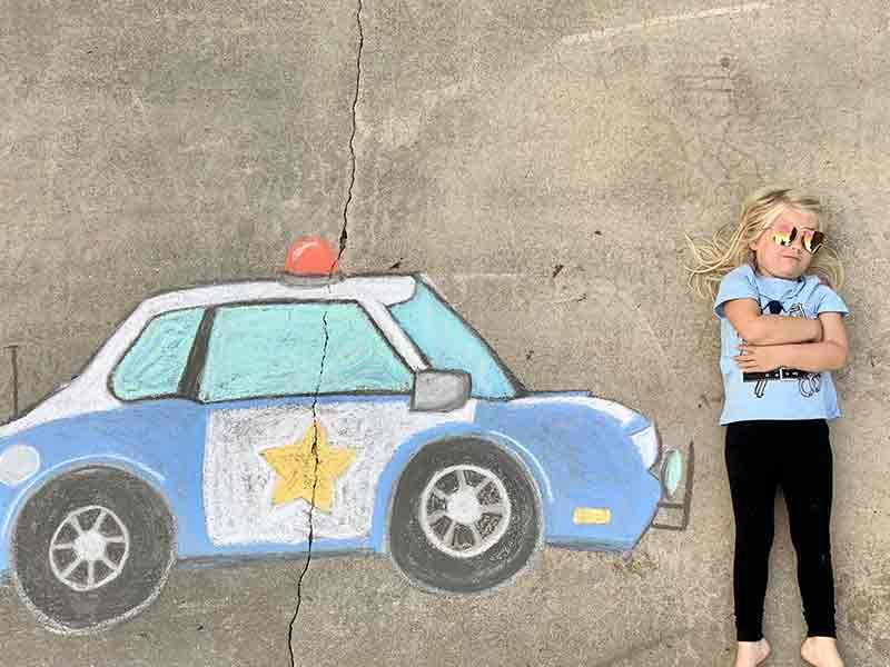 Osceola Chalk Art