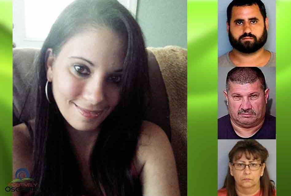 Murder trial of slain St. Cloud woman's estranged husband, father in law rescheduled for July, mother-in-law rearrested