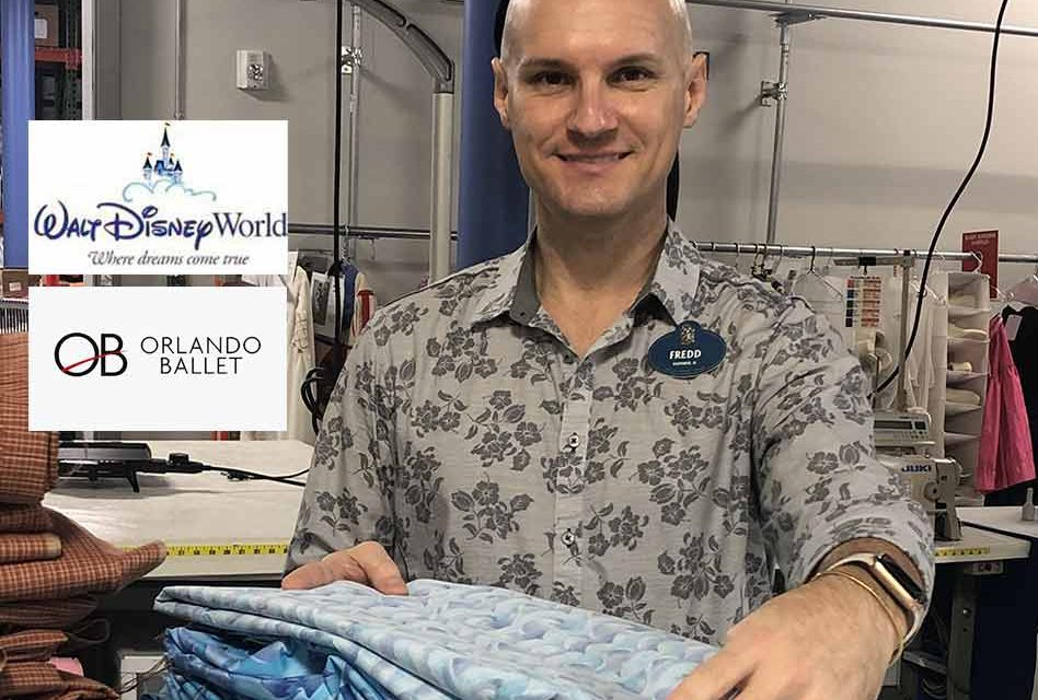 Walt Disney World Resort donates materials for Orlando Ballet's quest to make 5,000 face coverings for community