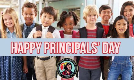 Today is May 1 — That means it's National School Principals' Day!
