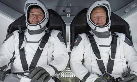SpaceX and NASA team up today at 4:33pm for historic return to manned space flight for the U.S.