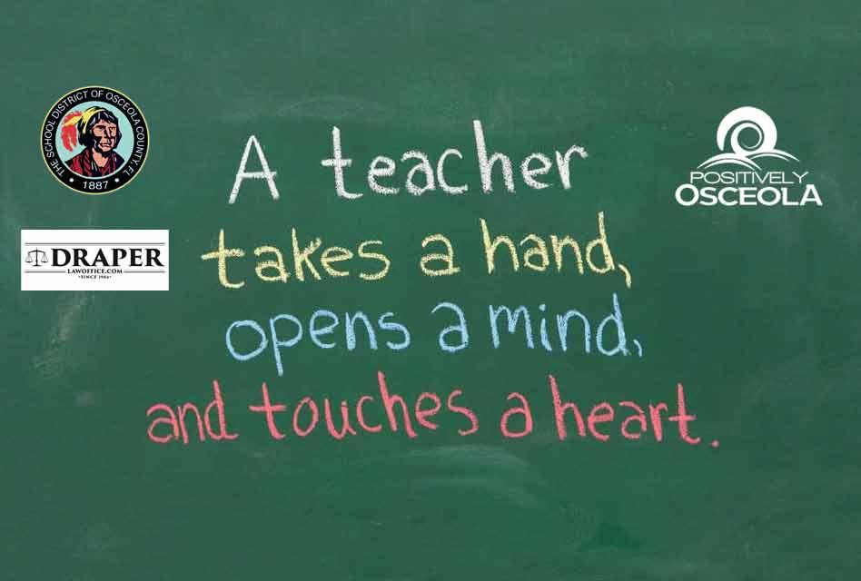 Show support for educators: Teacher Appreciation Week begins Today!