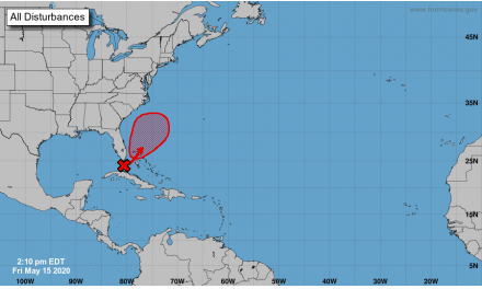 Low pressure system in Florida Straits may develop. How will it impact Osceola County?