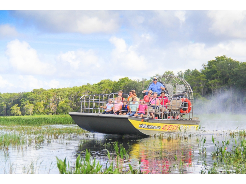 Wild Florida to re-open airboat tours June 1!