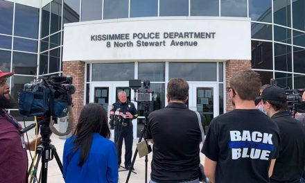 "Kissimmee Police Chief Jeff O'Dell expects city will ""be an example"" at tonight's protest march"