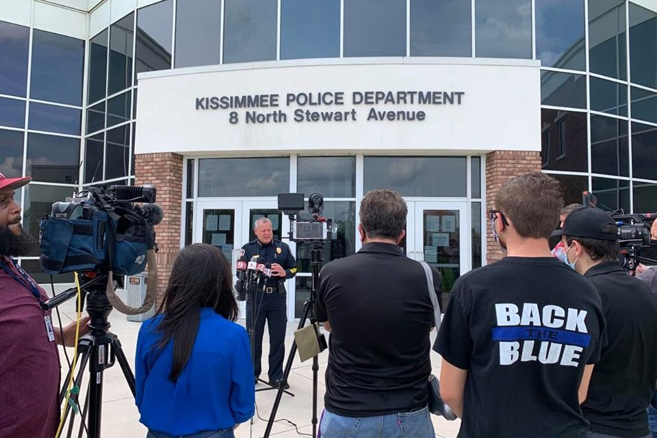 """Kissimmee Police Chief Jeff O'Dell expects city will """"be an example"""" at tonight's protest march"""