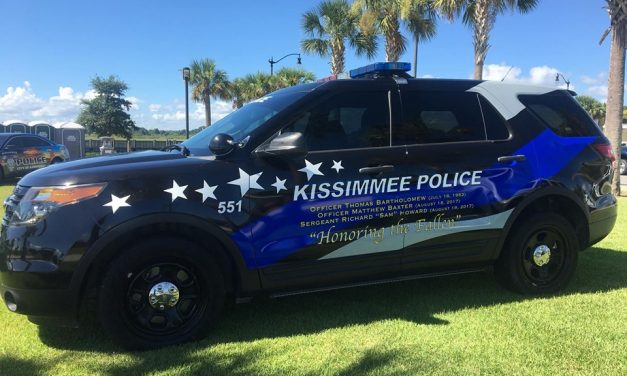 Kissimmee and St. Cloud police departments to join with community in peaceful march tonight at 6 p.m. through downtown Kissimmee