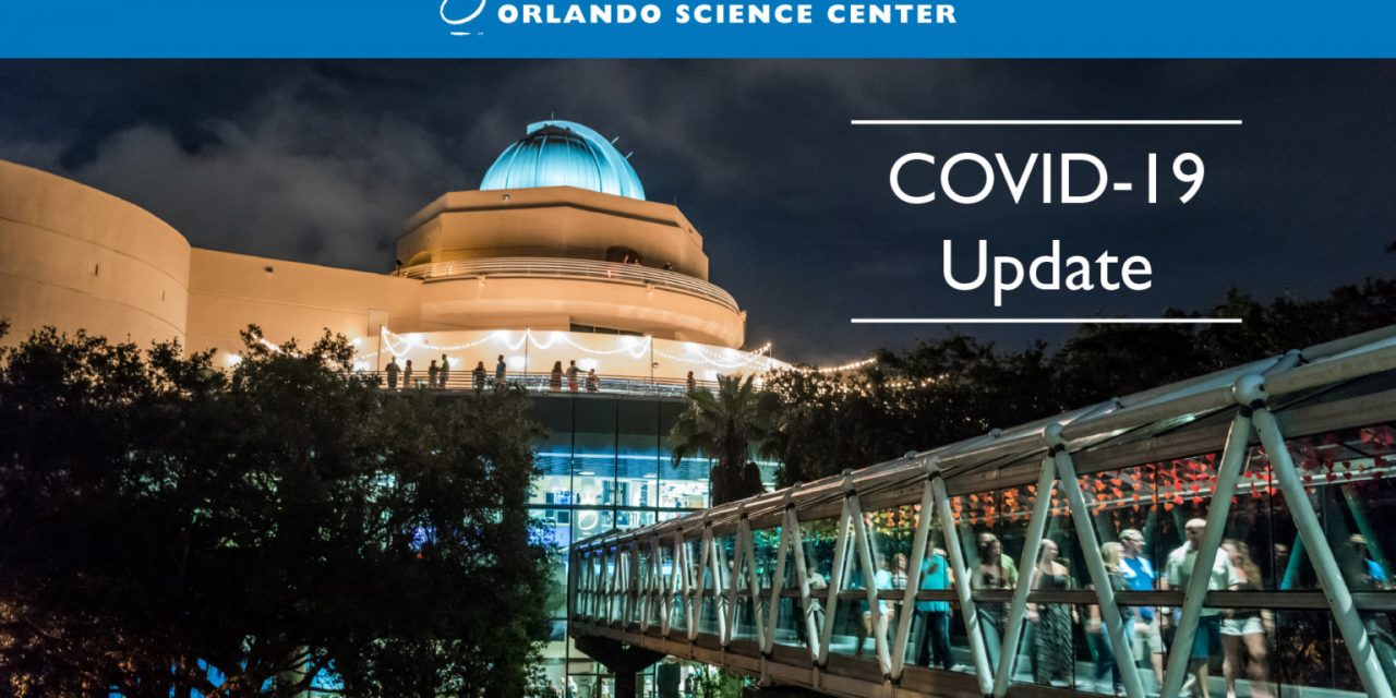 Orlando Science Center has reopened this week; order scheduled tickets online