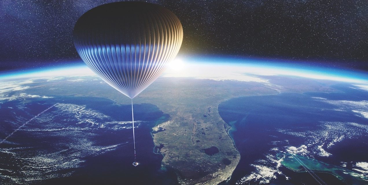 Space Perspective plans to send ordinary people to edge of space in hydrogen balloon