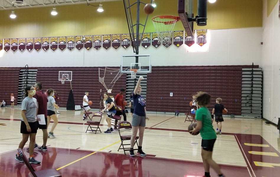 St. Cloud's Top Gun Shooting Camp hooping on safely with COVID considerations