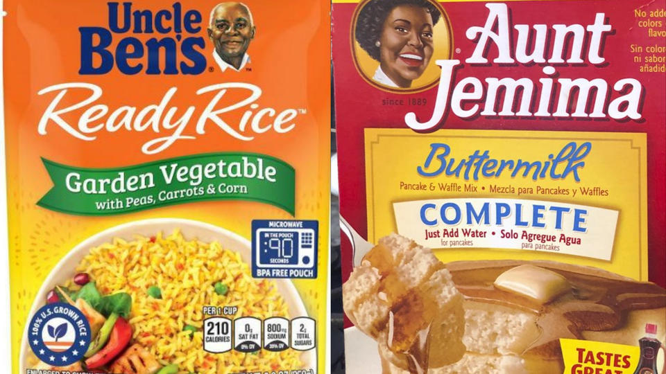A changing time: food companies evolving racially-toned brands like Uncle Ben's and Aunt Jemima