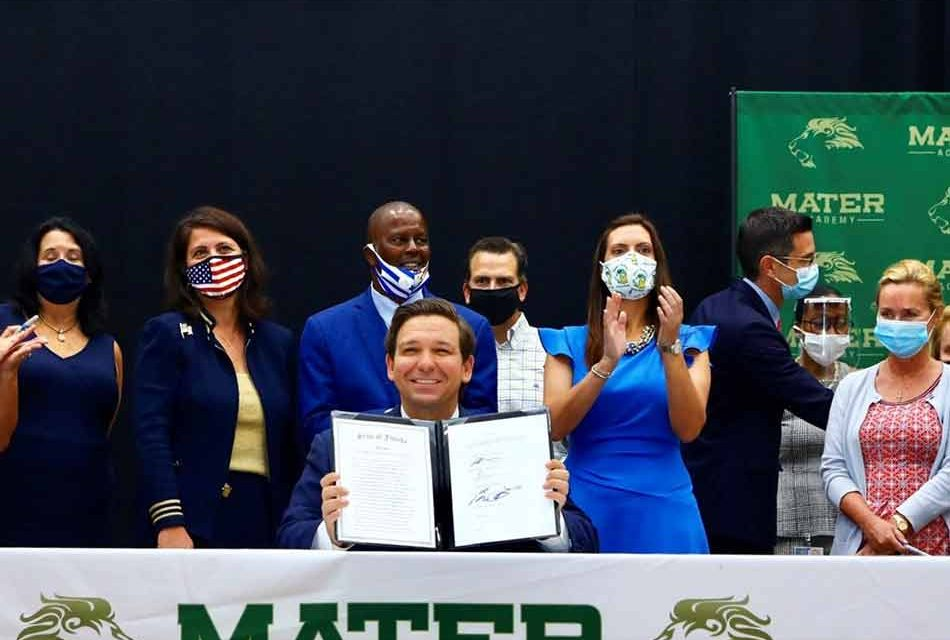 Gov. DeSantis signs budget item designed to provide $500 million to raise teacher pay