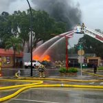 Kissimmee Fire Department prevents tire fire from turning into commercial building blaze