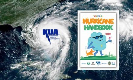 Get your copy of the Osceola Hurricane Handbook at Kissimmee Utility Authority